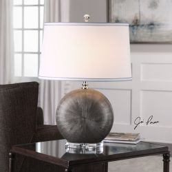 Liadan Ceramic Orb Table Lamp