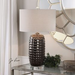 Mazur Dark Bronze Table Lamp