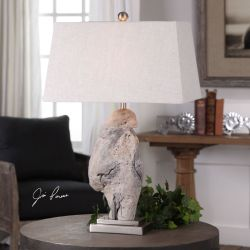 Worley Driftwood Table Lamp