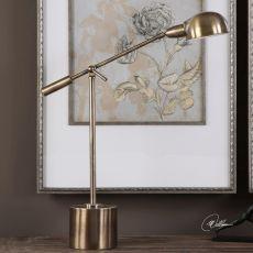 Uttermost Herndon Brass Desk Lamp