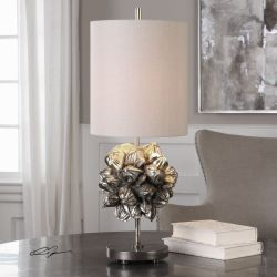 Nipa Palm Accent Lamp