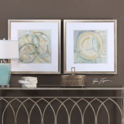 Abstracts Framed Prints S/2