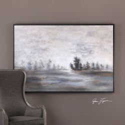 Evening Mist Landscape Art