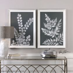 White Ferns Prints S/2