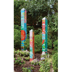 Hope is the Thing Garden Pole set of 3