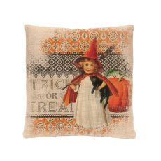Victorian Halloween 18X18 Pillow