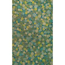 "Liora Manne Visions Iii Giant Swirls Indoor/Outdoor Rug - Green, 42"" By 66"""
