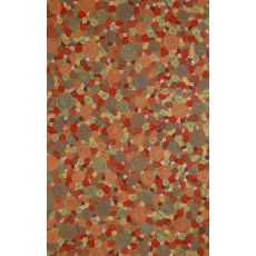 "Liora Manne Visions Iii Giant Swirls Indoor/Outdoor Rug - Red, 42"" By 66"""
