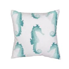 "Tribal Pattern Blue Polyester Pillow (18""x18"")"