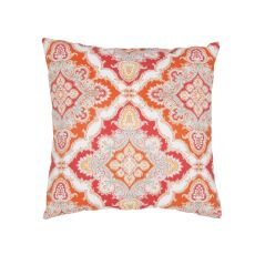 """Tribal Pattern Red Polyester Pillow (18""""X18"""")"""