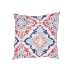 """Tribal Pattern Red/Blue Polyester Pillow (18""""X18"""")"""