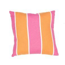 "Tribal Pattern Pink/Orange Polyester Pillow (7""X20"")"