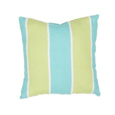 "Tribal Pattern Green/Blue Polyester Pillow (7""X20"")"