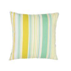"Tribal Pattern Green Polyester Pillow (18""X18"")"