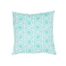 "Tribal Pattern Blue Polyester Pillow (7""X20"")"