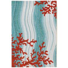 """Coral Reef Water Rug 24"""" x 36"""""""