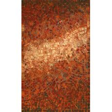 Arch Tile Red Rug 5' X 8'