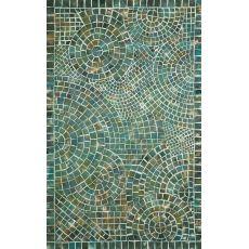Arch Tile Lapis Rug 8' x 10'