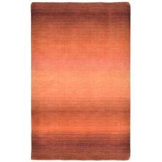 Liora Manne Vienna Ombre Indoor Rug - Orange, 5' By 8'