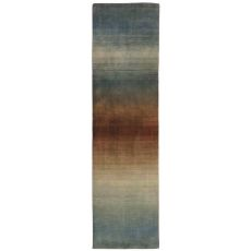 """Liora Manne Vienna Ombre Indoor Rug - Blue, 27"""" By 8'"""