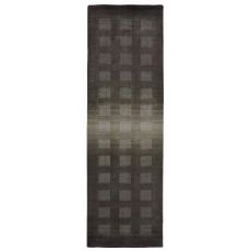 """Ombre Boxes Charcoal Rug 42"""" x 66"""""""