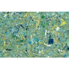 """Liora Manne Visions I Quarry Indoor/Outdoor Mat - Green, 29"""" By 48"""""""