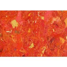 "Liora Manne Visions I Quarry Indoor/Outdoor Mat - Orange, 18"" By 29.5"""