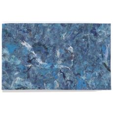 """Liora Manne Visions I Quarry Indoor/Outdoor Mat - Blue, 29"""" By 48"""""""