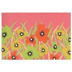 "Liora Manne Visions Iii Wildflower Indoor/Outdoor Mat - Pink, 20"" By 29.5"""