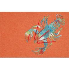 "Liora Manne Visions III Lobster Indoor/Outdoor Mat - Orange, 20"" by 29.5"""