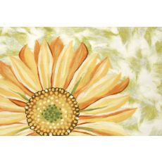 """Liora Manne Visions Iv Sunflower Indoor/Outdoor Mat - Yellow, 20"""" By 29.5"""""""
