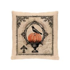 Vintage Halloween 18X18 Pillow