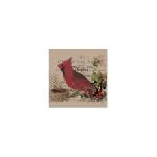 Winter Garden Cardinal Wall Art