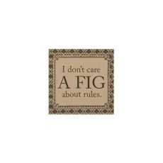 Downton Life A Fig Wall Art, Silver Sagei