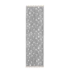 Wind Chill 14X48 Table Runner, White