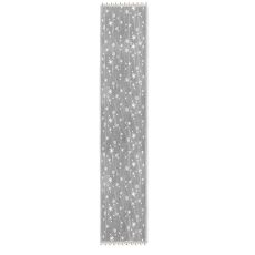 Wind Chill 14X72 Table Runner, White