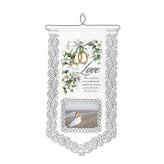 Love Wall Hanging, White