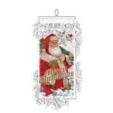 Woodland Santa, White