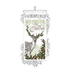 Christmas Deer, White