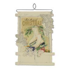 Joy Of Christmas Card Holedr, Cafe