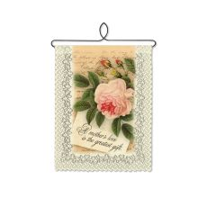 A Mother'S Love Wall Hanging, Cafe