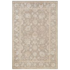 Classic Oriental  Pattern Gray Wool And Art Silk Area Rug (9X12)