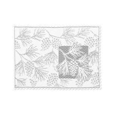 Woodland 14X20 Placemat, White