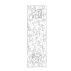 Woodland 14X45 Table Runner, White