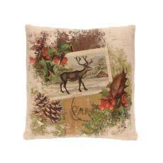 Woodland Christmas 18X18 Pillow