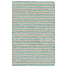 "Liora Manne Wooster Stripes Indoor/Outdoor Rug - Blue, 24"" By 36"""