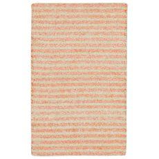 "Liora Manne Wooster Stripes Indoor/Outdoor Rug - Orange, 24"" By 36"""