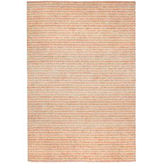 "Liora Manne Wooster Stripes Indoor/Outdoor Rug - Orange, 5' By 7'6"""