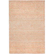 "Liora Manne Wooster Stripes Indoor/Outdoor Rug - Orange, 7'6"" By 9'6"""