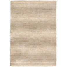 "Liora Manne Wooster Stripes Indoor/Outdoor Rug - Natural, 24"" By 8'"